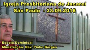 SÃO PAULO - IPB JACAREÍ